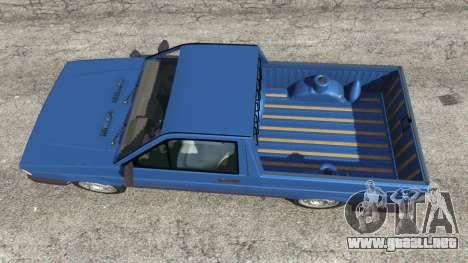 GTA 5 Volkswagen Saveiro 1.6 CLi vista trasera