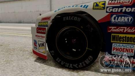 Chevrolet Lumina NASCAR 1992 para GTA San Andreas vista posterior izquierda
