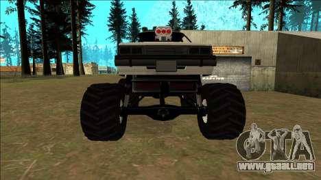 Willard Monster para la vista superior GTA San Andreas