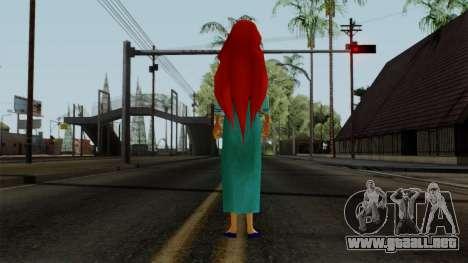 Ariel (Human Version) para GTA San Andreas tercera pantalla