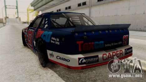 Chevrolet Lumina NASCAR 1992 para GTA San Andreas left