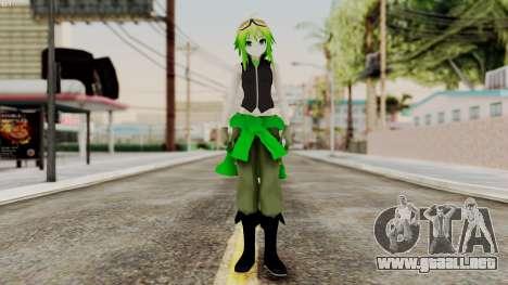 Gumi Love Is War (Vocaloid) para GTA San Andreas segunda pantalla