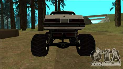 Willard Monster para la visión correcta GTA San Andreas