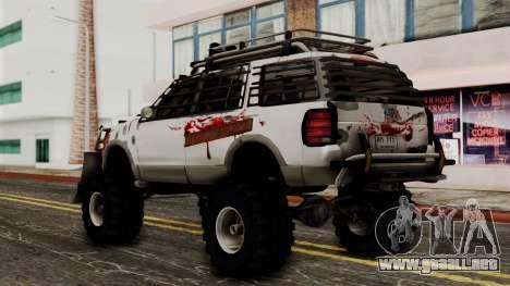 Ford Explorer Zombie Protection para GTA San Andreas left