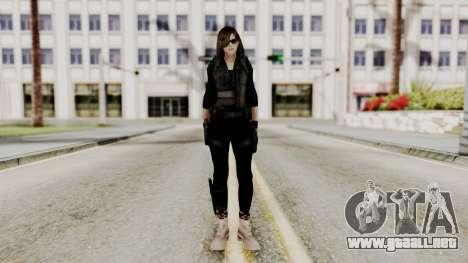 Christy Battle Suit (Resident Evil) para GTA San Andreas segunda pantalla