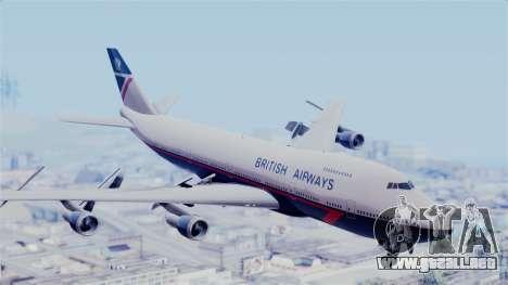 Boeing 747 British Airlines (Landor) para GTA San Andreas