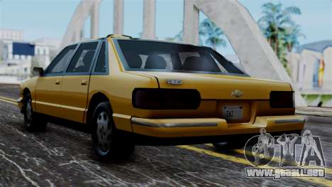 Taxi Casual v1.0 para GTA San Andreas left