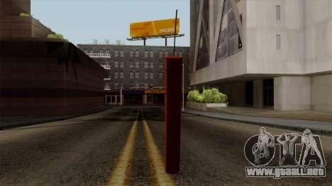 Dinamita para GTA San Andreas segunda pantalla
