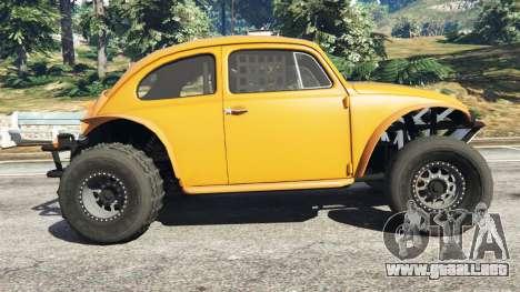 GTA 5 Volkswagen Beetle Baja Bug [Beta] vista lateral izquierda