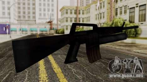 M16 from Delta Force para GTA San Andreas segunda pantalla
