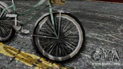 Olad Bike from Bully para la visión correcta GTA San Andreas