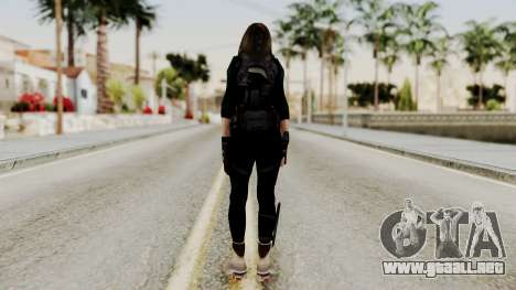 Christy Battle Suit (Resident Evil) para GTA San Andreas tercera pantalla