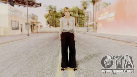 DOA 5 Helena Formal para GTA San Andreas segunda pantalla