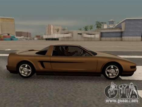 Infernus PFR v1.0 final para GTA San Andreas left