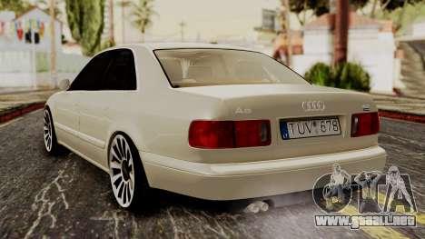 Audi A8 D2 para GTA San Andreas left
