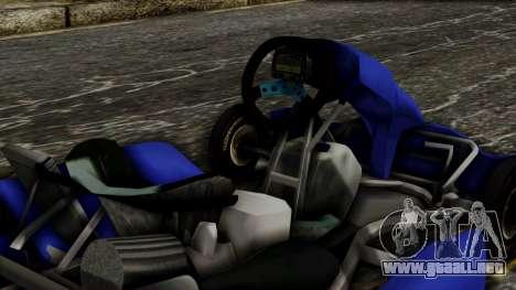 Crash Team Racing Kart para la visión correcta GTA San Andreas