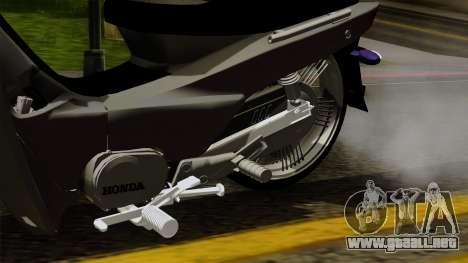 Honda Wave Tuning para la visión correcta GTA San Andreas