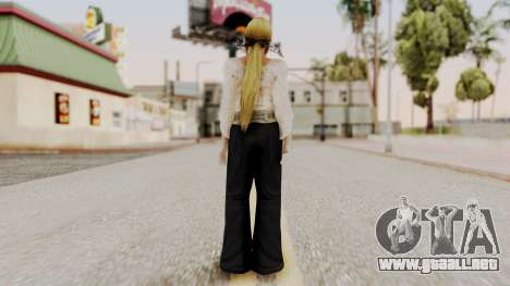 DOA 5 Helena Formal para GTA San Andreas tercera pantalla