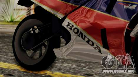 Honda VFR 750R para la visión correcta GTA San Andreas