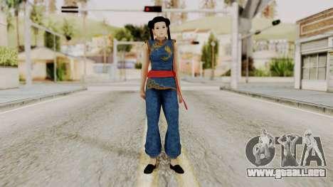 DOA 5 Pai Chan para GTA San Andreas segunda pantalla