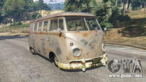 Volkswagen Transporter 1960 rusty [Beta] para GTA 5