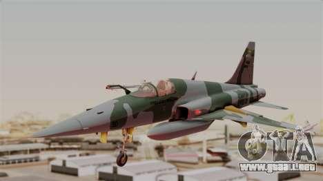 Northrop F-5E Tiger II Texture FAB para GTA San Andreas