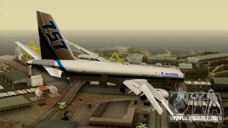 Boeing 757-200 Eastern Air Lines para GTA San Andreas left