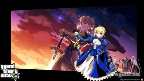 GTA 5 Pantallas de carga en estilo anime tercera captura de pantalla