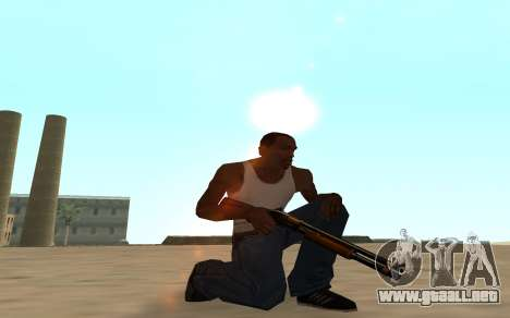 Nitro Weapon Pack para GTA San Andreas sexta pantalla