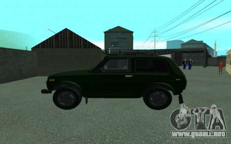 VAZ 21213 Niva para GTA San Andreas left