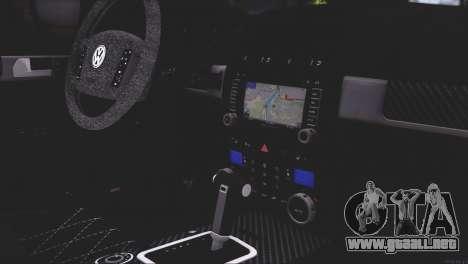 Volkswagen Touareg R50 2008 para las ruedas de GTA San Andreas