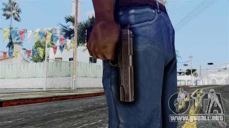 Colt M1911 from Battlefield 1942 para GTA San Andreas tercera pantalla