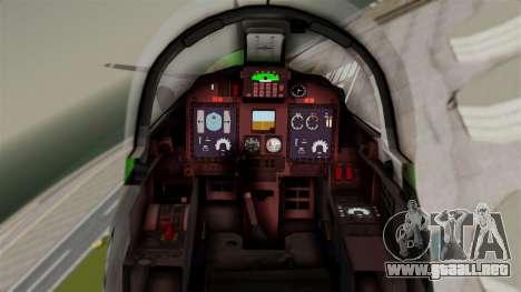 EMB-314 Super Tucano Factory USA para la visión correcta GTA San Andreas