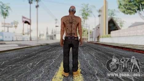 2Pac Skin HD v1.0 para GTA San Andreas tercera pantalla