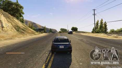 GTA 5 Sobrecalentamiento del motor segunda captura de pantalla