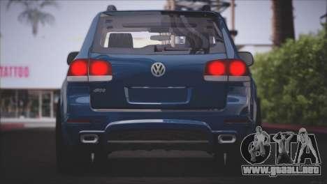 Volkswagen Touareg R50 2008 para vista inferior GTA San Andreas