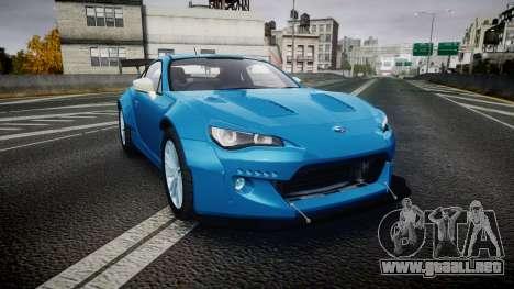 Subaru BRZ Rocket Bunny para GTA 4