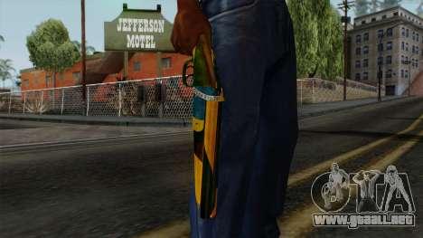 Brasileiro Sawnoff Shotgun v2 para GTA San Andreas tercera pantalla