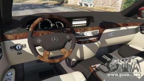 GTA 5 Mercedes-Benz S550 W221 v0.4.1 [Alpha] volante