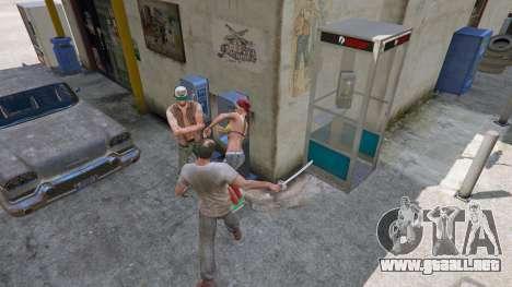 GTA 5 Katana cuarto captura de pantalla
