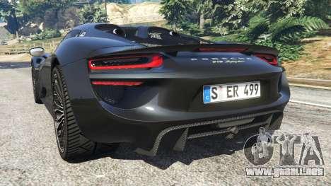Porsche 918 Spyder 2014 [HD] para GTA 5