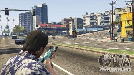 GTA 5 Rifle de asalto de Anime cuarto captura de pantalla