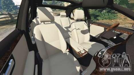 Rueda de GTA 5 Mercedes-Benz S550 W221 v0.4.1 [Alpha]