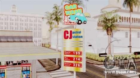 LS CJ Gas v2 para GTA San Andreas segunda pantalla