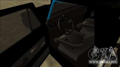 Chevrolet C10 Drift Monster Energy para la visión correcta GTA San Andreas