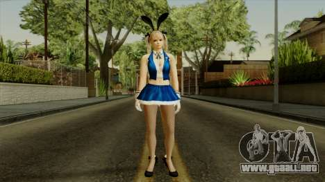 Dead Or Alive 5 Rose Marie Bunny para GTA San Andreas