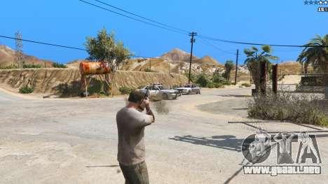 GTA 5 Insane Overpowered Weapons mod 2.0 tercera captura de pantalla