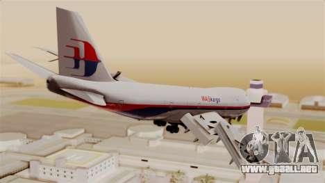 Boeing 747 MasKargo para GTA San Andreas left