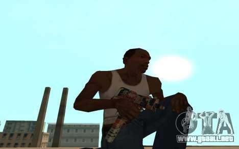 Asiimov Weapon Pack v2 para GTA San Andreas séptima pantalla
