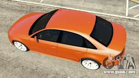 GTA 5 Audi S4 vista trasera
